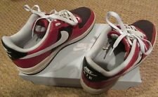2009 Nike Air Force 1 One Low Top Red Tweed White 315122-600 AF1 Size 9.5