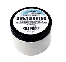 Organic Whipped Shea Butter/ Body Moisturiser/After Sun/Natural Scent