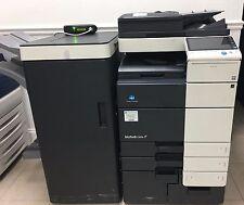 Konica Minolta bizhub C654 color, Fax copier,scan , Booklet Finisher, fold