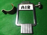 Original Eco  Air Meter Chrome Trim Crank Handle Glass Hook Model 97