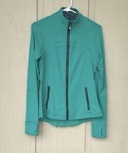 Lululemon Women's Define Jacket Turquoise Size 8 EUC