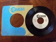 GEORDIE (AC/DC) RARE 1973 ACID PSYCH 45 MGM 14539 ALL BECAUSE OF YOU NM++ PROMO
