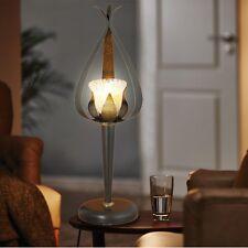 design lampe de table pétales lumière OR NOIR beistell style campagnard