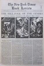 OZARKS HILL FOLK SIMON HOGUE SALTER LINDSAY PRINCE ALBERT BOLIITHO April 10 1932