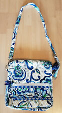 Vera Bradley Cross body Hipster Quilted Lightweight Cotton Zip Closures Large