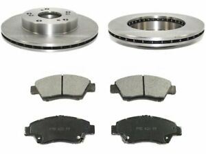 Front Brake Pad and Rotor Kit H453HP for Acura RSX 2002 2003 2004 2005 2006