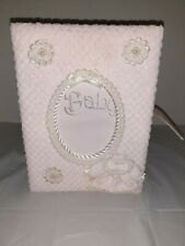 Pink Terrycloth Covered Baby Album New