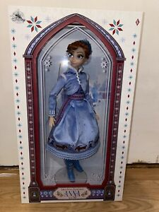 """DISNEY STORE OLAF'S FROZEN ADVENTURE ANNA 17"""" LIMITED EDITION DOLL"""