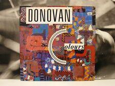 DONOVAN - COLOURS - 2 LP GATEFOLD UNPLAYED UK 1987