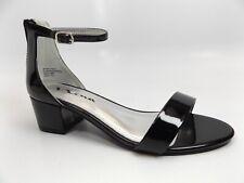 Girls' Nina Hidi Ankle Strap Sandal Black Patent Synthetic Sz 5.0 M, New 11660