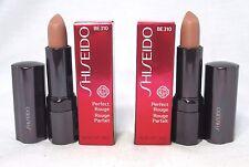 Lot/2 Shiseido Perfect Rouge Lipstick ~ Be 310 ~ .14 oz. Each ~ Bnib