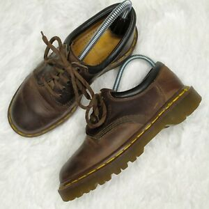 Dr Martens Air Wair 8053 Crazy Horse England Distressed Leather 5 Eye Mens 5