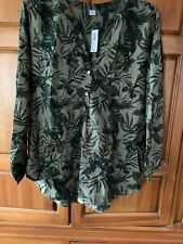 Old Navy NWT Olive Green Blouse Top Size XL