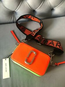 Marc Jacobs the fluorescent Snapshot Small Women's Camera Bag - Orange