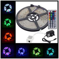 5M LED Stripe 5050 SMD RGB Leiste Streifen Band Outdoor Lichtband Fernbedienung