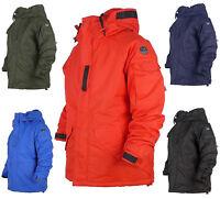 New South play Mens Waterproof Basic Military Ski-Snowboard Hood Jacket