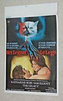 THE LEGACY  Katharine Ross - Sam Elliott - Roger Daltrey - 1980 Belgian Poster