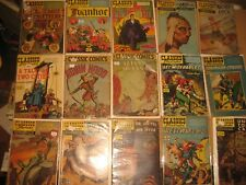 Classic Comics Illustrated Complete set 1-169 +more 71 1st editions