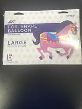 "Carousel Horse Shaped 48""  Holographic Foil Balloon"