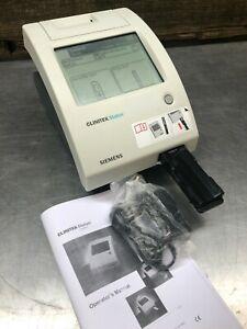 Siemens CLINITEK Status Urine Chemistry Analyzer W/ Power Adapter & Manual