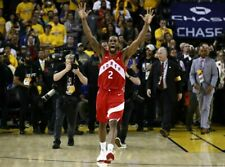 Kawhi Leonard Toronto Raptors NBA Championship Unsigned 8X10 Photo