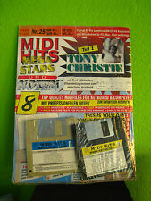 MIDI HITS Nr. 25 Tony Christie Mega-Stars 8 Songs GM MIDIFILES Neu, orig.verp.