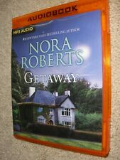 Getaway - MP3 CD By Nora Roberts.