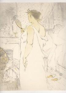 Original Henri Toulouse Lautrec (1864-1901) signed Lithograph