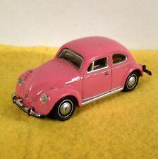 Hongwell Cararama VW Käfer Beetle, 1:72 Metall- Modellauto rosa pink