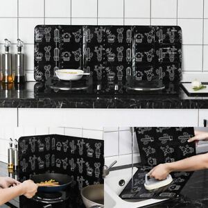 Folding Guard Oil Screen Splash Cover Anti Splatter Stove Shield Cooking Supply