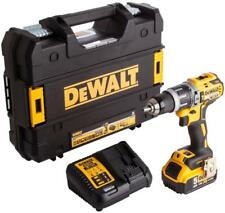 18V Brushless Cordless Combi Drill with 1x 5Ah Lion Battery and Case - DEWALT