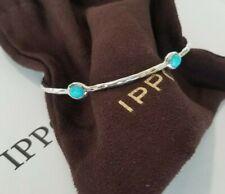 IPPOLITA - Rock Candy 5-stone Bangle Bracelet with Turquoise - Brand New! $450