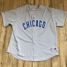 CHICAGO CUBS NOMAR GARCIAPARRA #5 GRAY ROAD MLB Size XL Majestic JERSEY