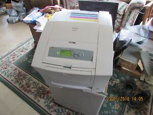 XEROX PHASER 8200N SOLID INK COLOR PRINTER FULLY REFURBISHED. Comes with ink