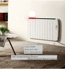 1500W Electric Panel Alumium Radiator with 24/7 Digital Programming Timer