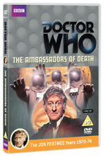 Doctor Who: The Ambassadors of Death DVD (2012) Jon Pertwee ***NEW***