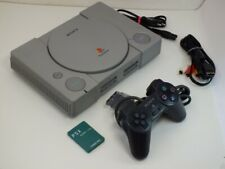 !!! PLAYSTATION PS1 Konsole + Controller + Memory SCPH-1002 GUT !!!