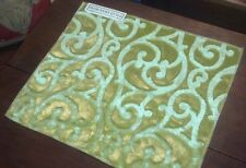 DESIGNERS GUILD Fabric REMNANT - WILLAMENT - RAISED VELVET - GERMANY - $511