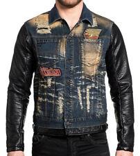 Affliction Black Premium - MORRISON TRUCKER - Men's Denim Jacket - NEW