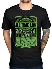 Official All Time Low War Press T-Shirt A Love Like War Holds It Down Glamour
