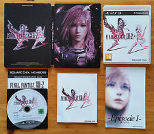 Final Fantasy XIII-2 version collector stellbook PS3 / br zero rayure / complet