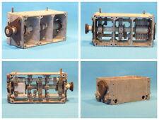 Dreifach-Drehkondensator aus einem Funkgerät der Wehrmacht. LgNr. W1038