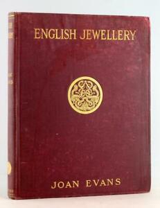 Joan Evans 1921 Inglese Gioielli Da The Fifth Century Ad A 1800 Copertina Rigida