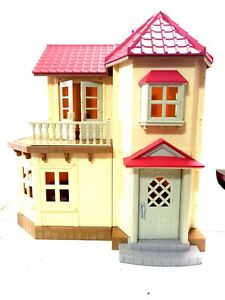 Calico Critters Red Roof Country Home Play Set   Epoch Sylvanian Families