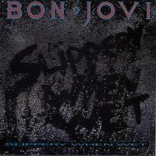 BON JOVI Slippery When Wet 1986 UK Vinyl LP + INNER  EXCELLENT CONDITION