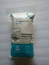Mainstays waterproof Vinyl Twin Mattress Protector - White