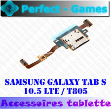 Samsung Galaxy Tab S 10.5 LTE T805 T801 lecteur carte SIM card reader flex cable