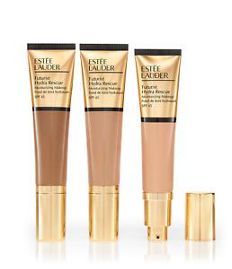 Estee Lauder FUTURIST Hydra Rescue Moisturizing Makeup SPF45 3N2 WHEAT NIB 1.2OZ