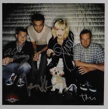 No Doubt Autograph Signed Gwen Stefani Photo Full Band JSA
