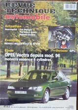 NEUF Revue technique OPEL VECTRA essence 4cyl RTA 614 1999 RENAULT MEGANE diesel